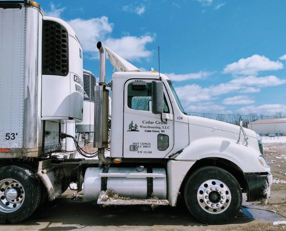 trucking warehouse fleet semi truck